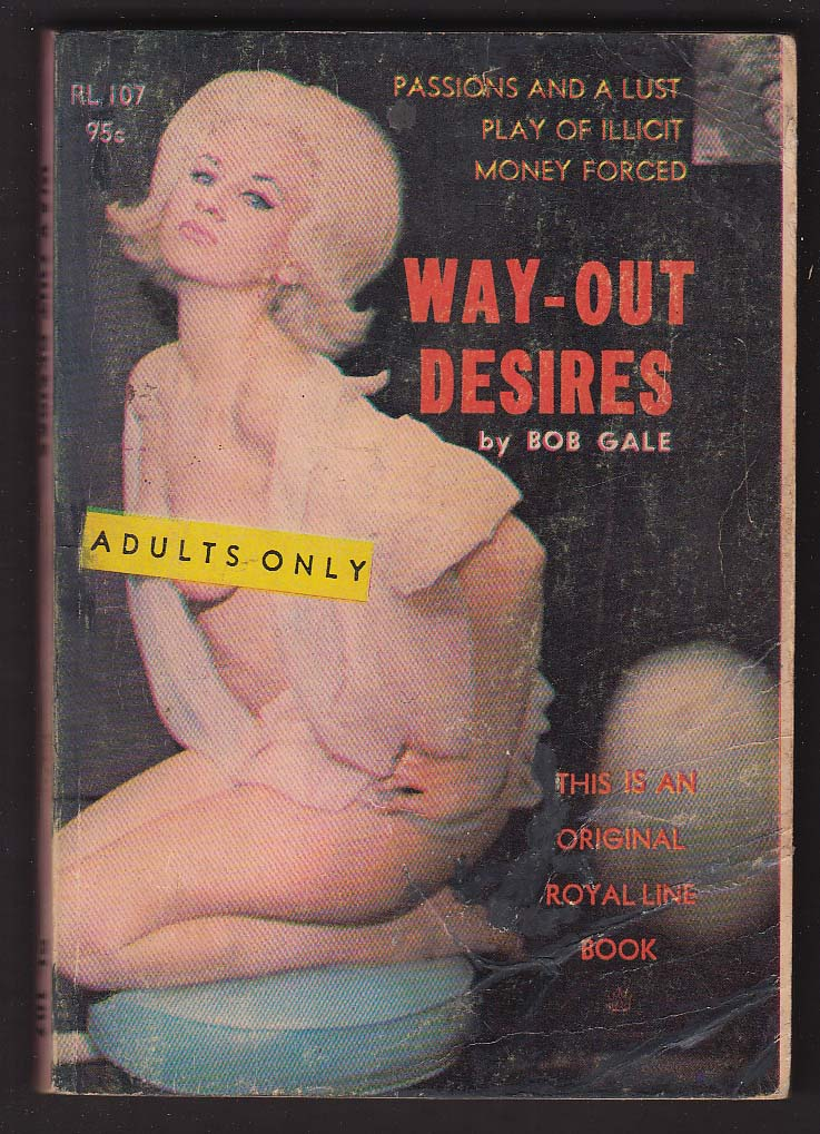 Bob Gale: Way-Out Desires GGA pb 1965