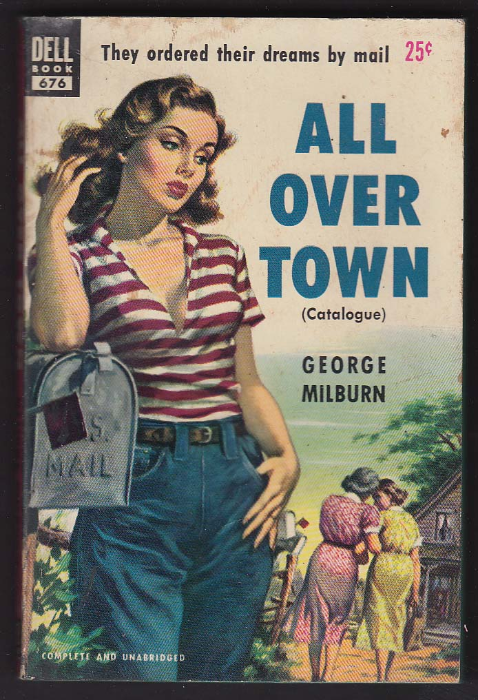 George Milburn: All Over Town pb GGA cover by George Garland