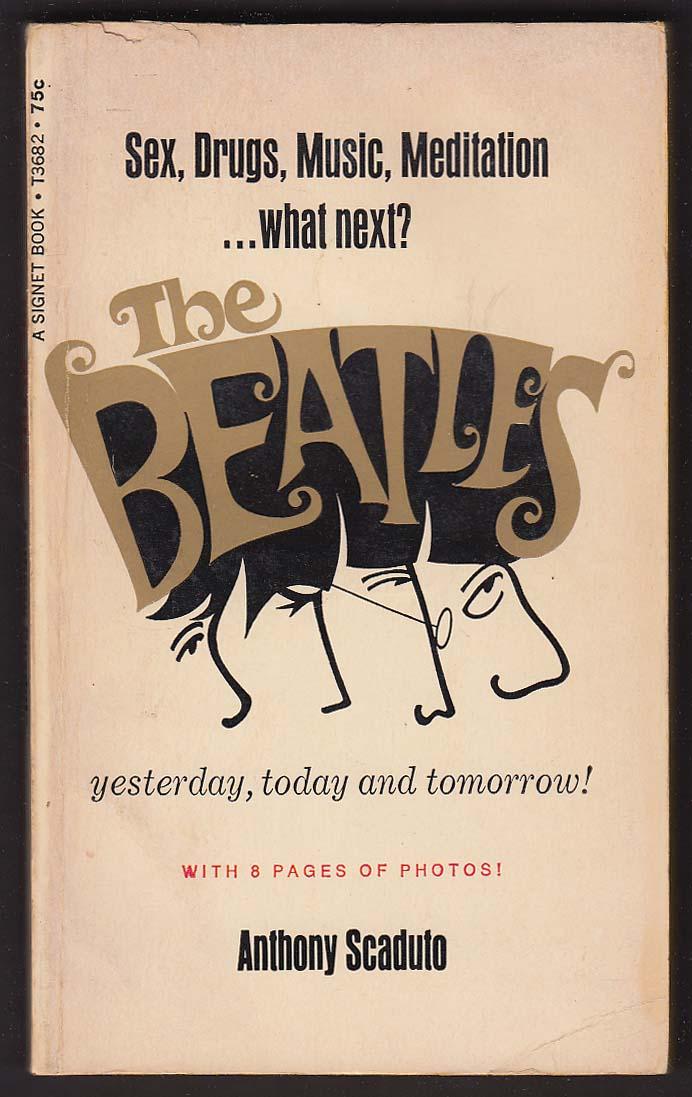 Anthony Scaduto: The Beatles 1st pb ed 1968