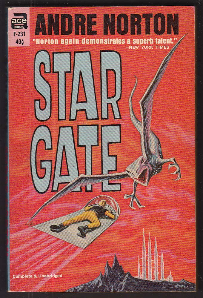Andre Norton: Star Gate 1958 pb sci-fi
