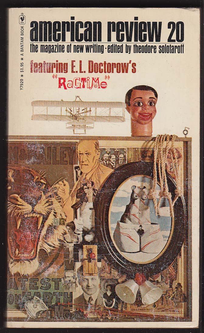 American Review 20 E L Doctorow Peter Handke Richard Hugo ++ PBO 1st 1974