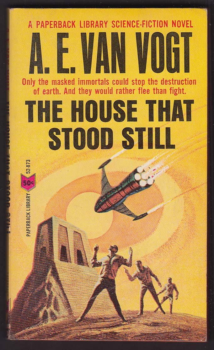 A E Van Vogt: The House That Stood Still 1st pb ed 1965 sci-fi