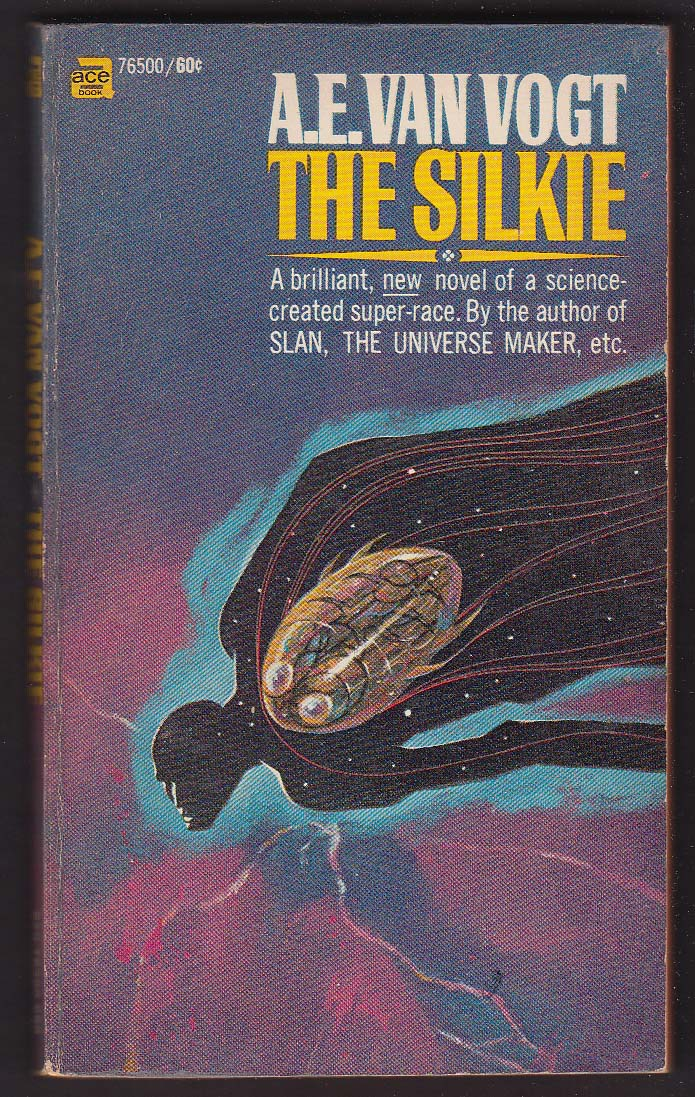 A E Van Vogt: The Silkie 1969 pb sci-fi Jack Gaughan