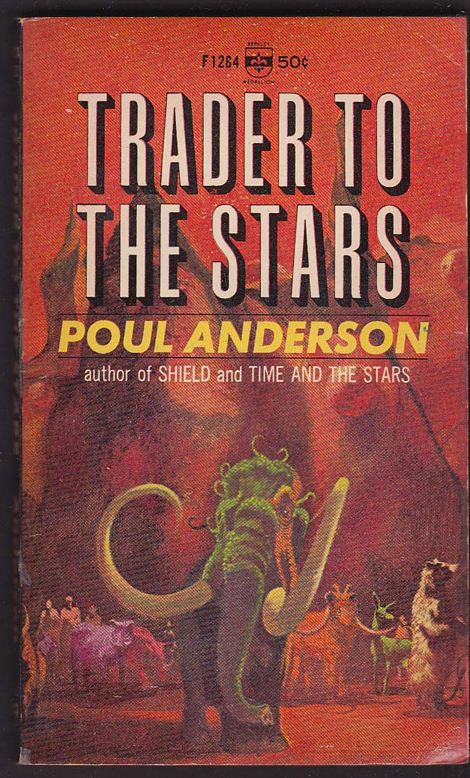 Image for Poul Anderson: Trader to the Stars 1966 pb sci-fi