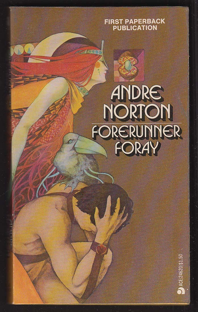 Andre Norton: Forerunner Foray 1st pb ed 1973 sci-fi