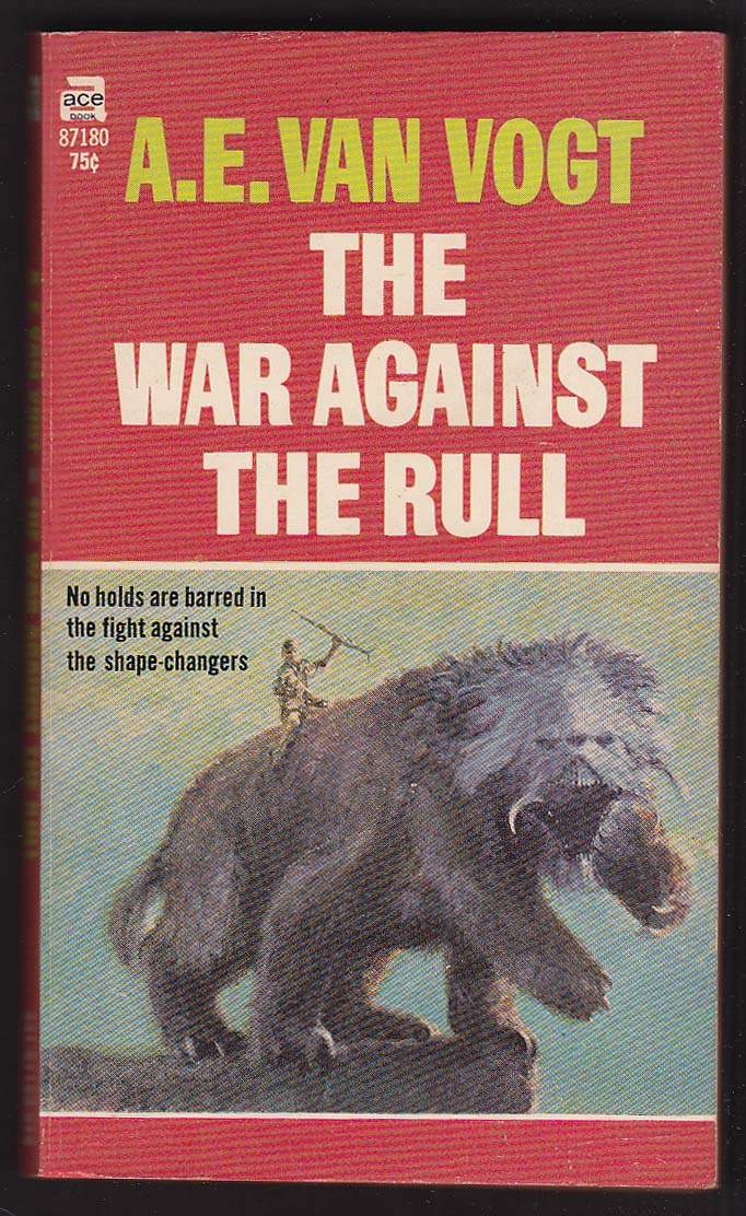 A E Van Vogt: War Against the Rull 1st pb ed 1959 John Schoenherr sci-fi cover
