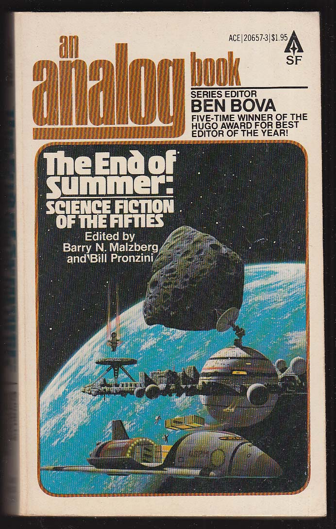 Analog: End of Summer: Sci-Fi of the 50s: Asimov Budrys ++ 1st pb ed 1979