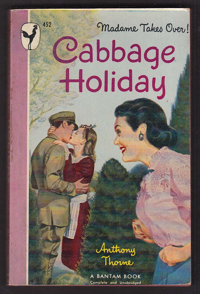 Anthone Thorne: Cabbage Holiday 1948 pb GGA cover by Milton Stohl