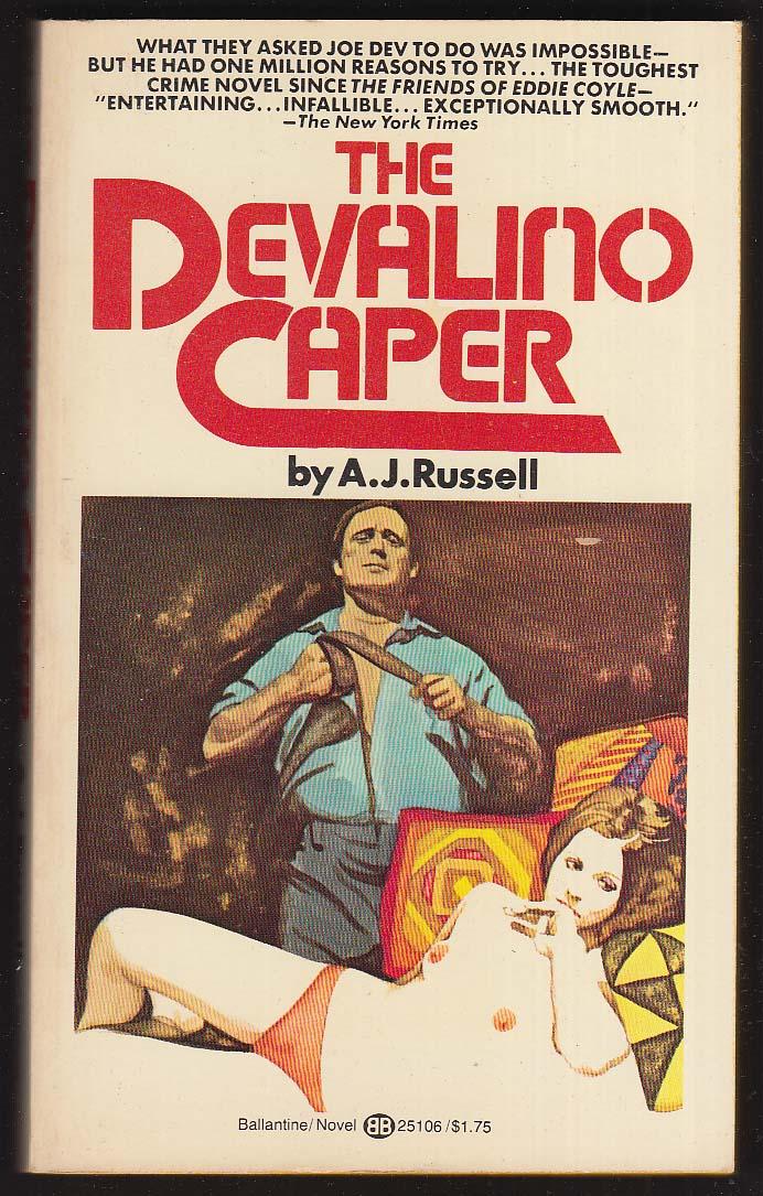 A J Russell: The Devalino Caper 1st pb ed 1977 GGA