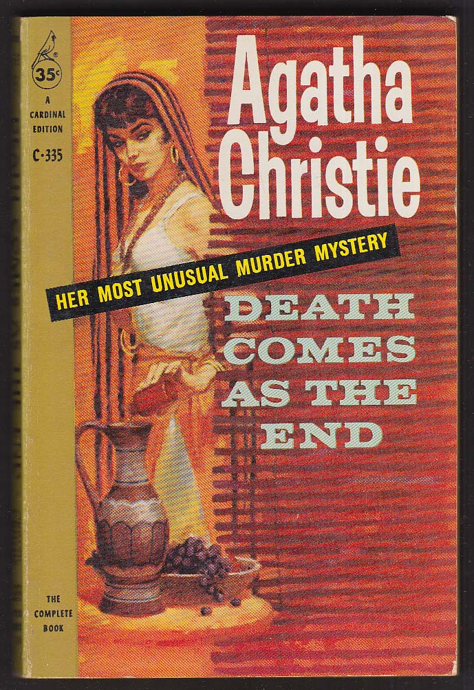 Agatha Christie: Death Comes As The End 1959 pb GGA cover by Jerry Allison