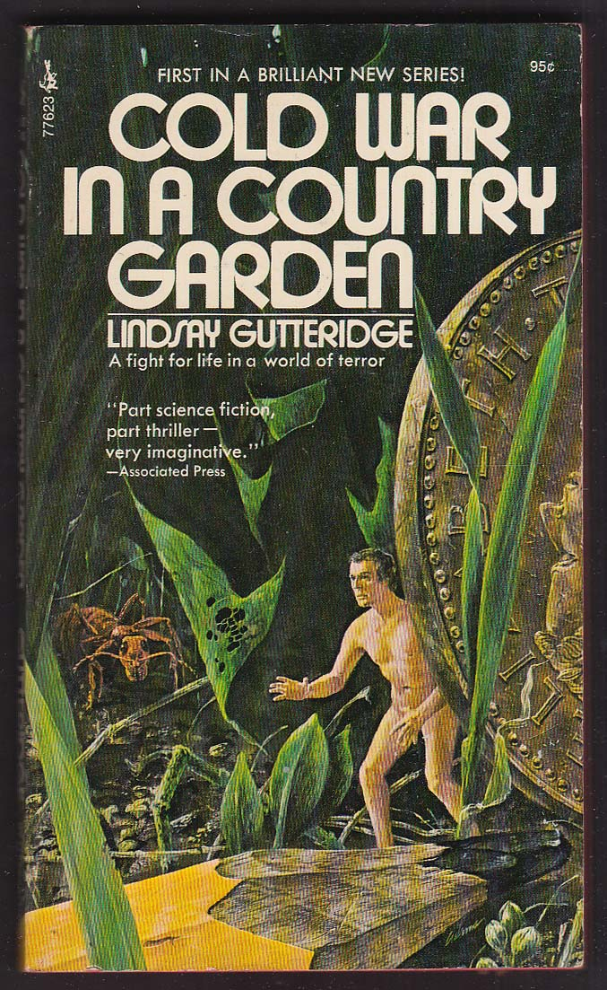 Lindsay Gutteridge: Cold War in a Country Garden 1973 pb Norman Adams cover art