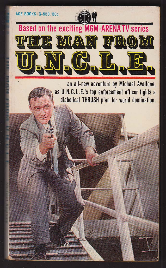 Image for Michael Avallone: The Man From UNCLE TV tie-in pb 1965