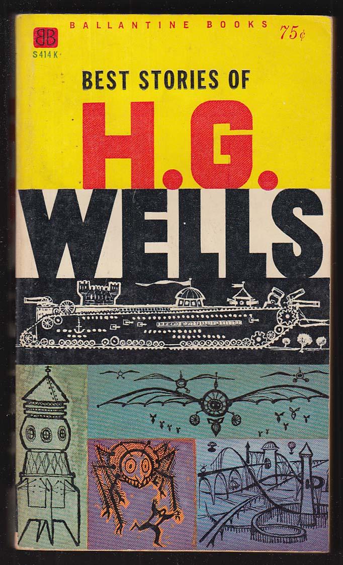 Best Stories of H G Wells 1960s pb