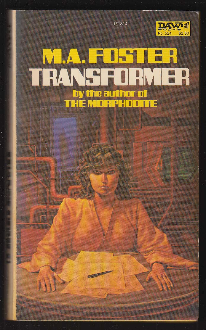 M A Foster: Transformer PBO 1st 1983 sci-fi GGA cover by Michael Whelan