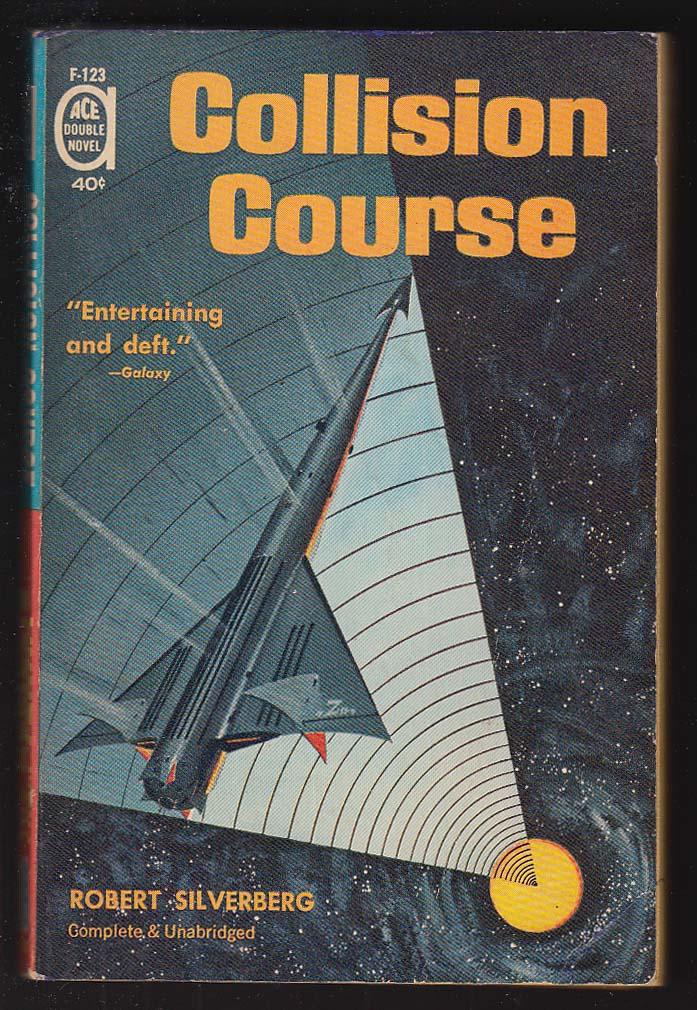 Brackett: Nemesis from Terra / Silverberg: Collision Course sci-fi pb 1961