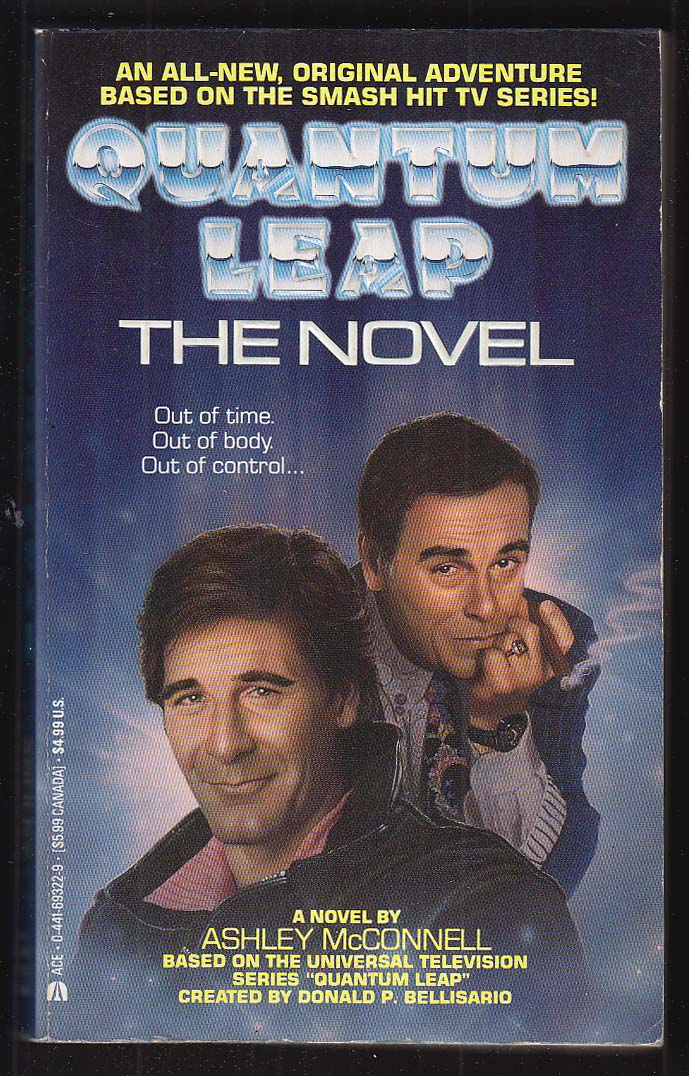 Ashley McConnell: Quantum Leap the Novel TV tie-in PBO 1st 1992