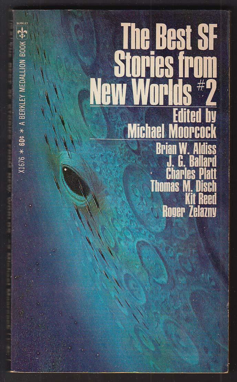 Best SF Stories from New Worlds 2 Moorcock Aldiss Ballard Zelazny 1st pb ed 1969