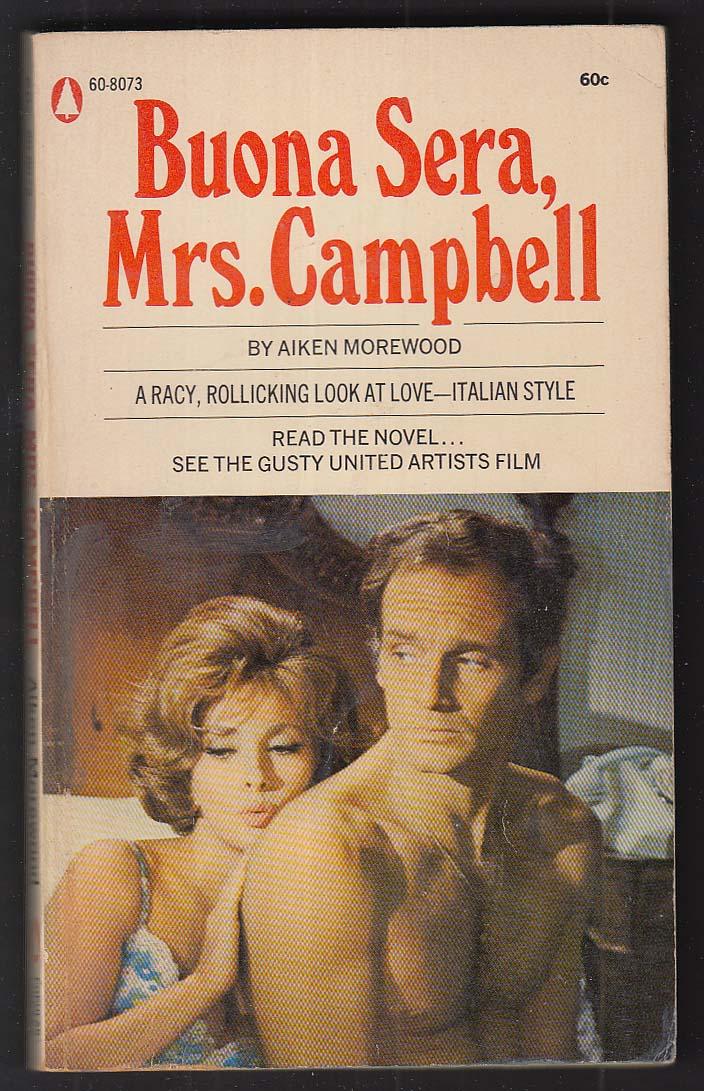 Aiken Morewood: Buona Sera Mrs Campbell movie tie-in pb 1969 Gina Lollobrigida
