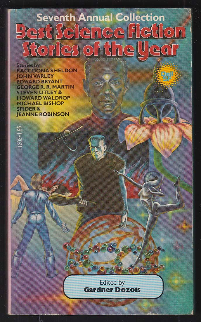 Best Sci-Fi Stories of the Year 7 George R R Martin 1st pb ed 1979 Jack Gaughan
