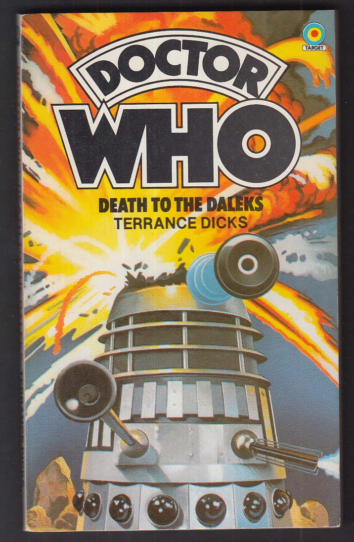 Terrance Dicks: Doctor Who Death to the Daleks 1982 pb