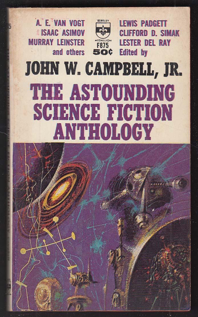 Astounding Science Fiction Anthology: Asimov Simak Van Vogt Del Rey ++ 1964 pb