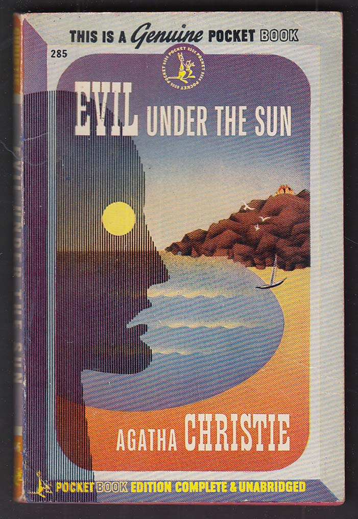 Agatha Christie: Evil Under the Sun 1945 pb