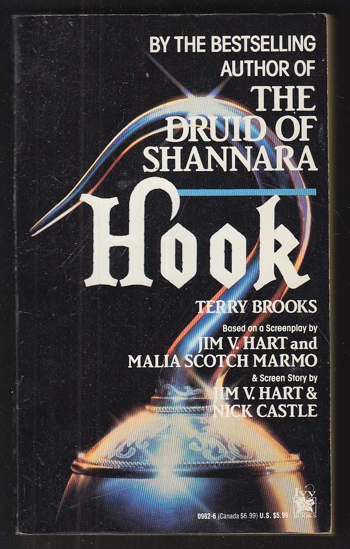 Terry Brooks: Hook movie tie-in PBO 1st 1992