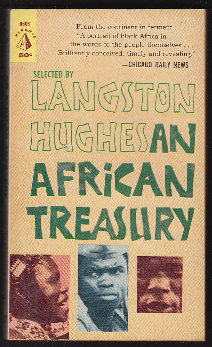 Langston Hughes: An African Treasury 1st pb ed 1961