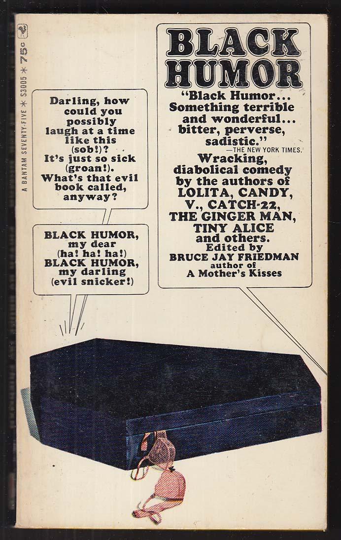 Black Humor: Pynchon Nabokov Terry Southern Edward Albee ++ 1965 pb