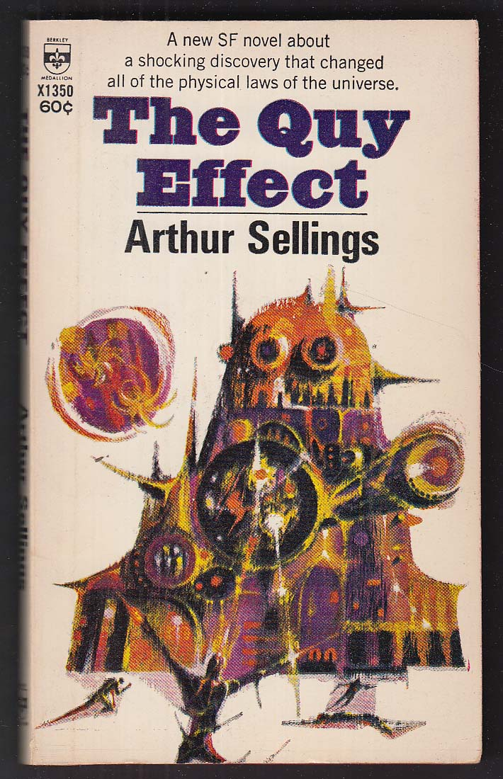 Arthur Sellings: The Quy Effect 1st pb ed 1967