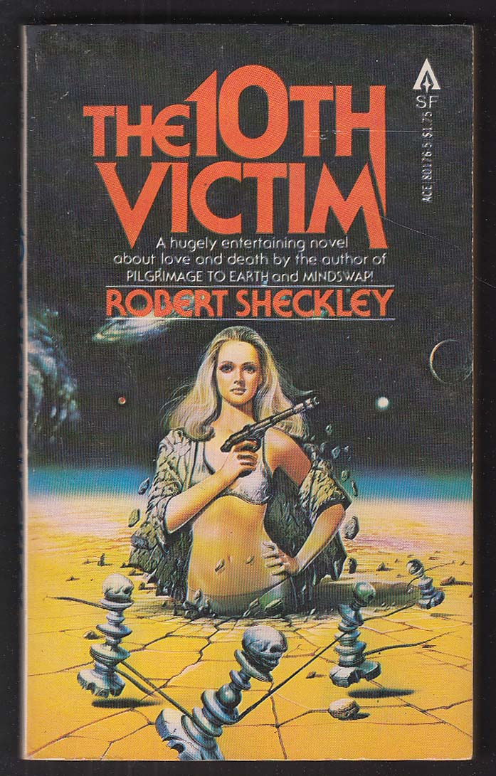 Robert Sheckley: The 10th Victim 1st pb ed 1979 GGA