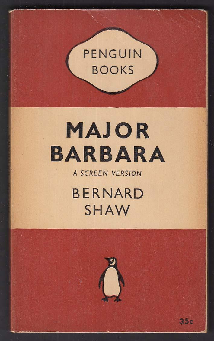 Bernard Shaw: Major Barbara screen version 1941 pb