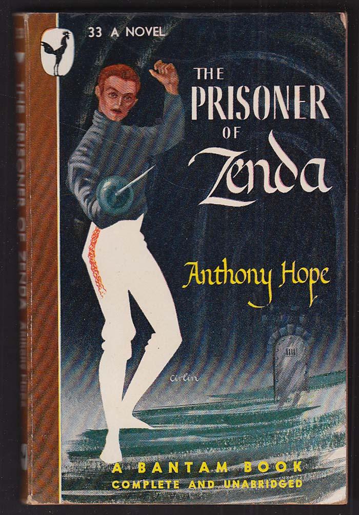 Anthony Hope: The Prisoner of Zenda 1946 pb ed Cirlin cover art