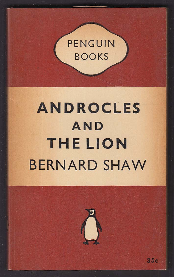 Bernard Shaw: Androcles and the Lion 1st pb ed 1951