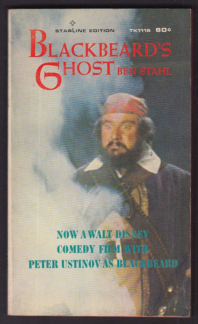 Ben Stahl: Blackbeard's Ghost 1st movie tie-in pb ed 1968 Peter Ustinov