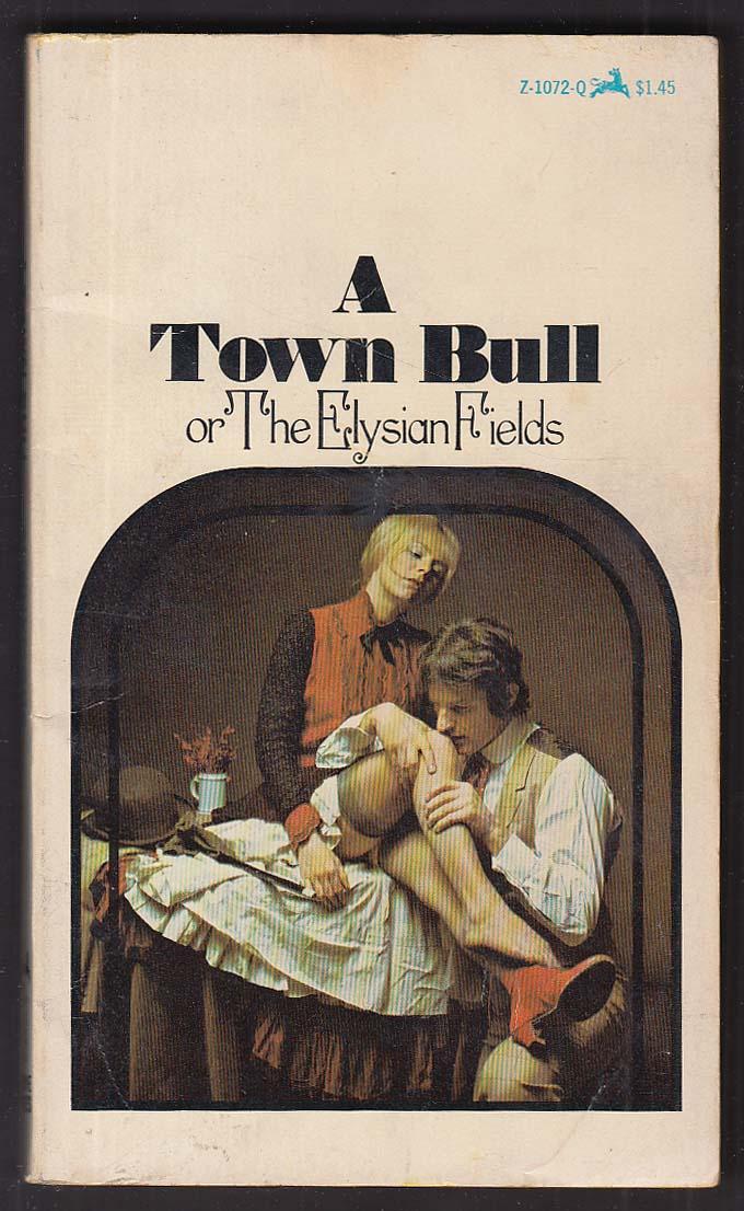 Anonymous: A Town Bull or The Elysian Fields 1st pb ed GGA model stockings