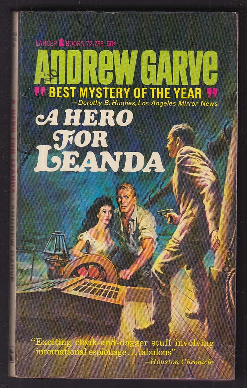 Andrew Garve: A Hero for Leanda 1965 pb GGA