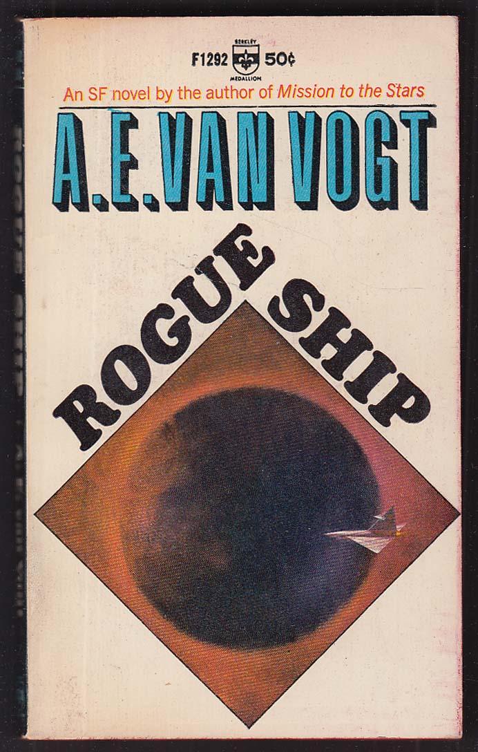 A E van Vogt: Rogue Ship 1st pb ed 1966 sci-fi