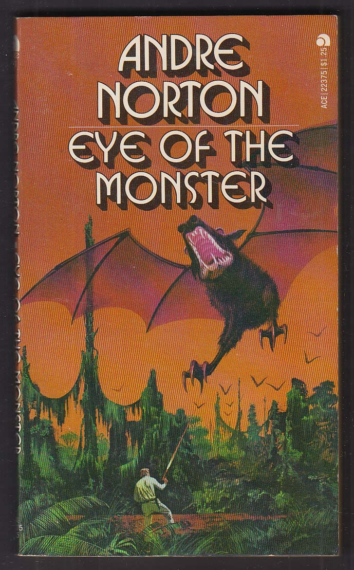 Andre Norton: Eye of the Monster sci-fi PBO 1st 1962