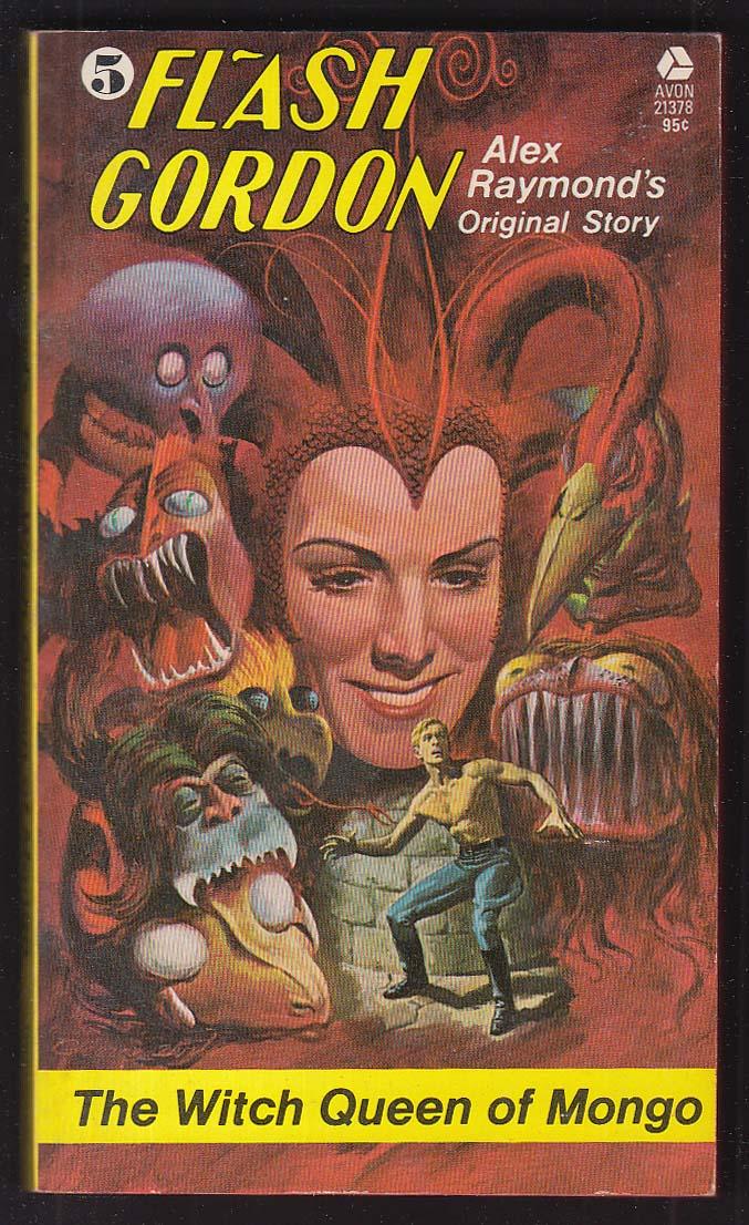 Alex Raymond: Flash Gordon #5 Witch Queen of Mongo PBO 1st 1974 George Wilson