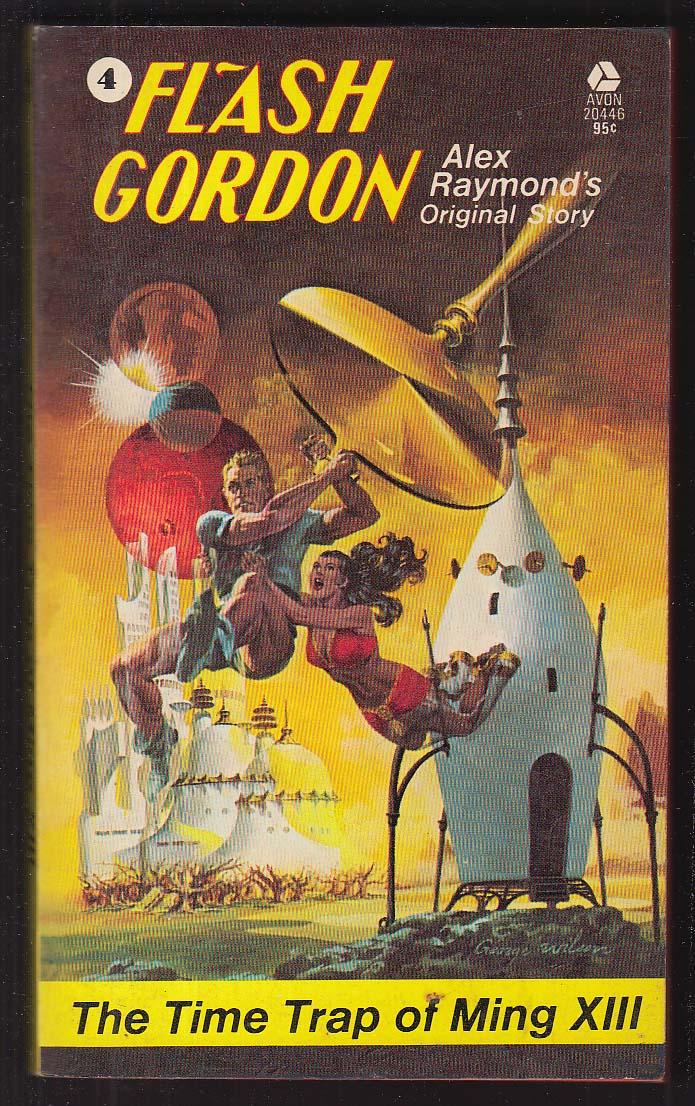 Alex Raymond: Flash Gordon #4 Time Trap of Ming XIII PBO 1st 1974 George Wilson