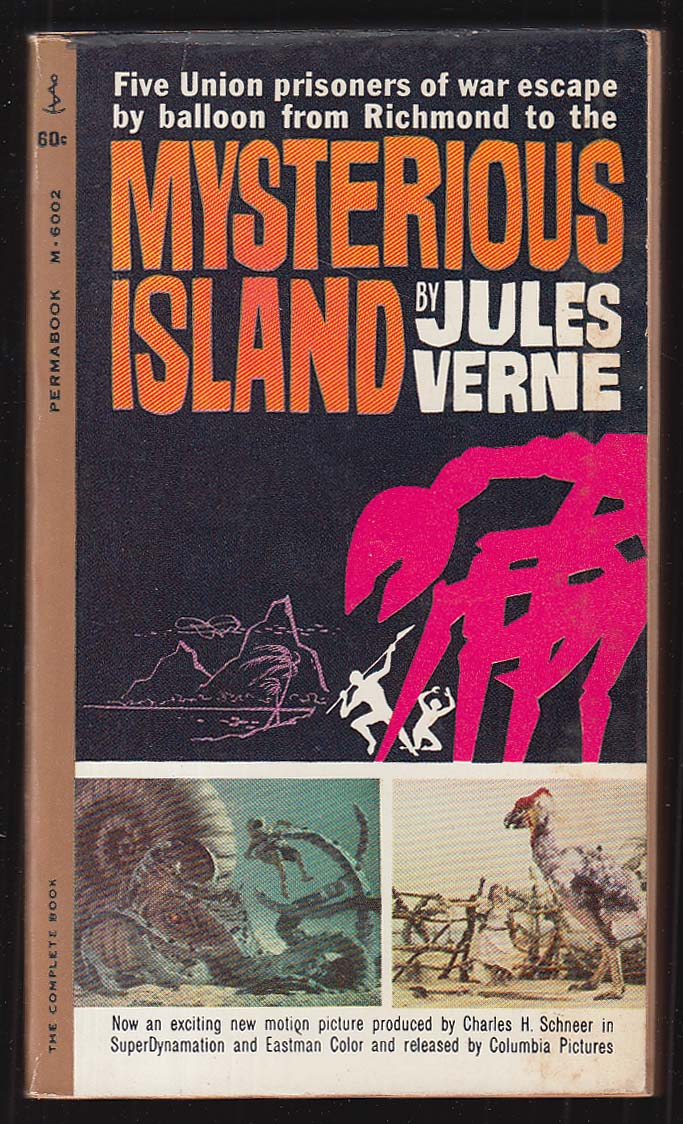 Jules Verne: Mysterious Island 1st movie tie-in pb ed 1962