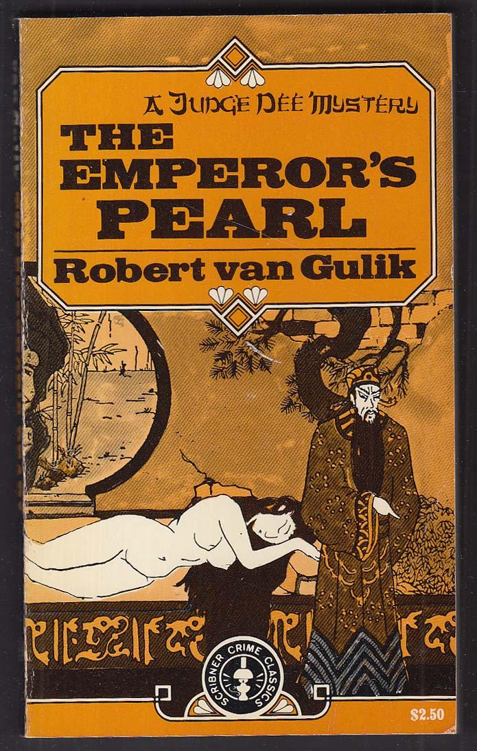 Robert van Gulik: The Emperor's Pearl PBO 1st 1963 GGA