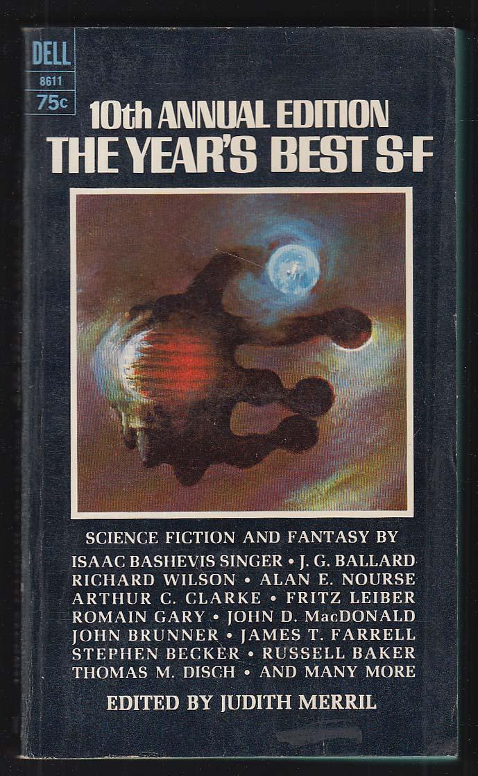 10th Annual Year's Best S-F: Ballard Clarke Leiber ++ 1st pb ed 1966