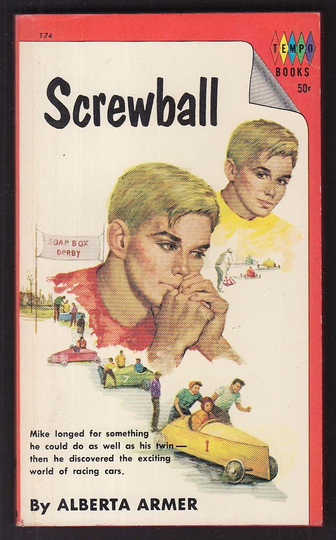 Alberta Armer: Screwball 1965 pb 2nd printing