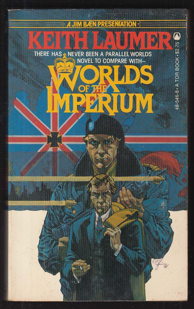 Keith Laumer: Worlds of the Imperium 1st pb ed 1982