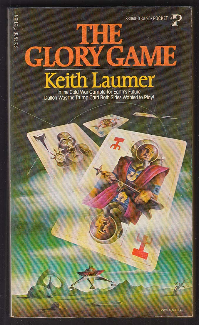 Keith Laumer: The Glory Game 1st pb ed 1980