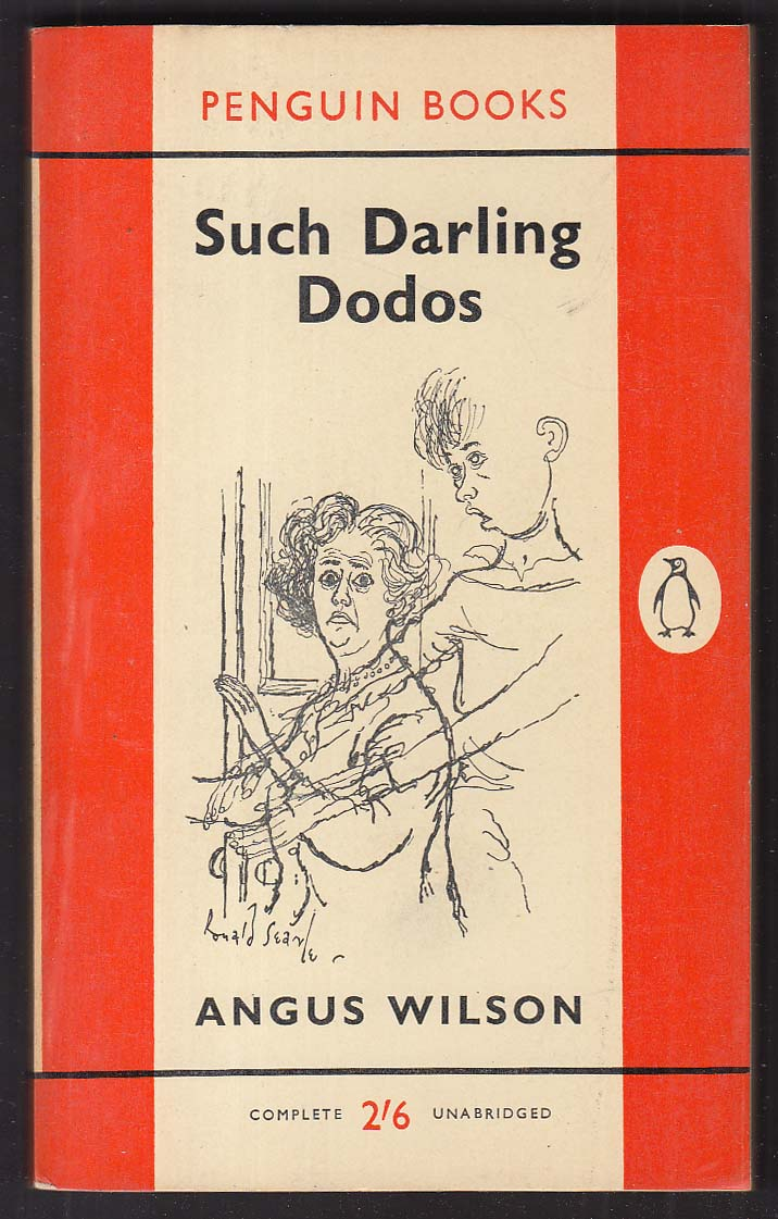 Angus Wilson: Such Darling Dodos 1960 pb Ronald Searle cover art