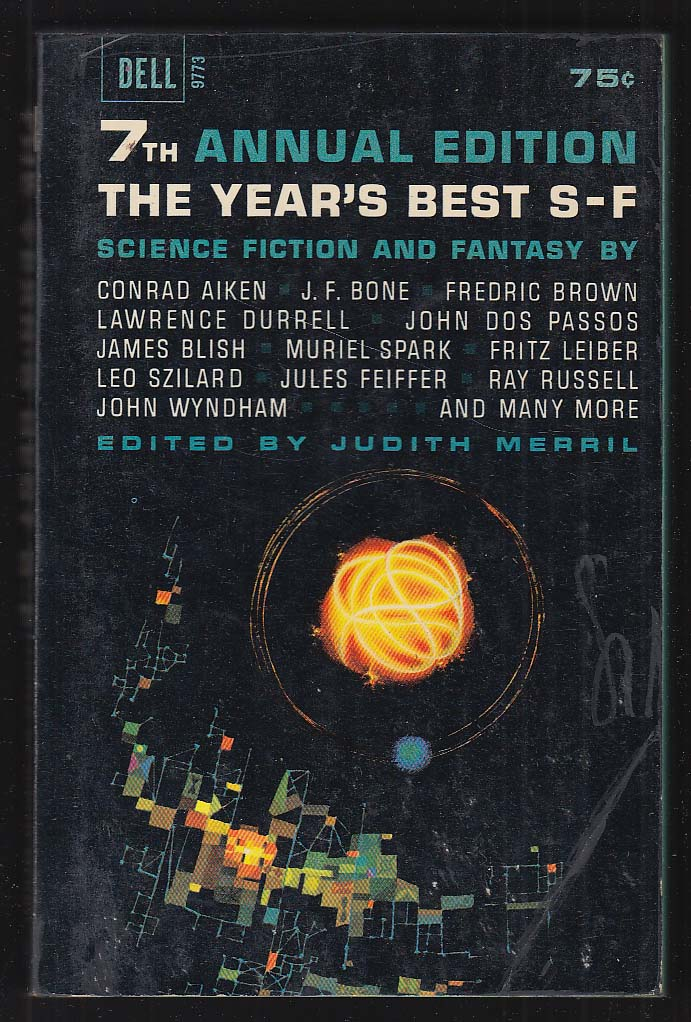 Year's Best S-F 7th Annual Edition: Leiber Blish Feiffer Szilard Wyndham ++ 1963