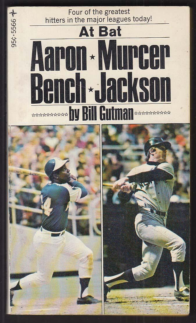 Bill Gutman: Aaron Murcer Bench Jackson 1973 pb